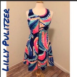 NWOT Lilly Pulitzer Sally Fit & Flare Dress